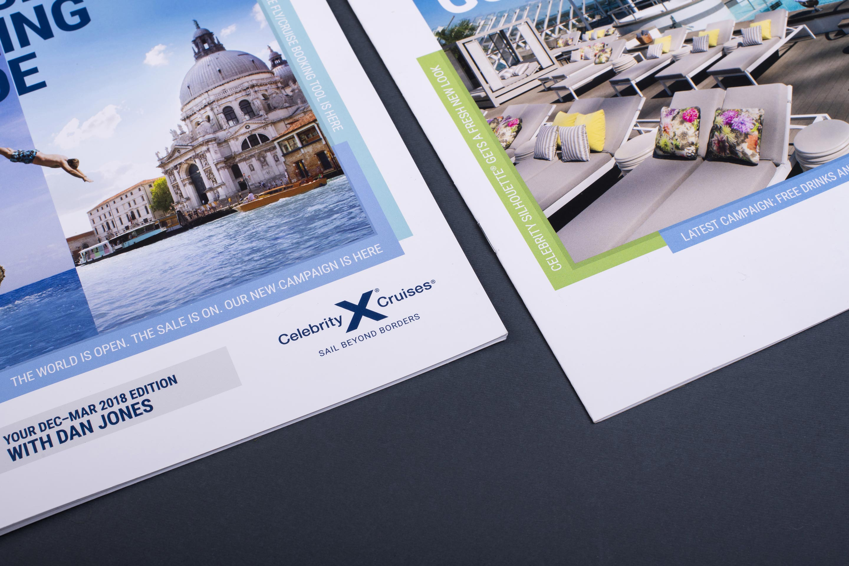 Celebrity Cruises Celebrity Central Website Visual