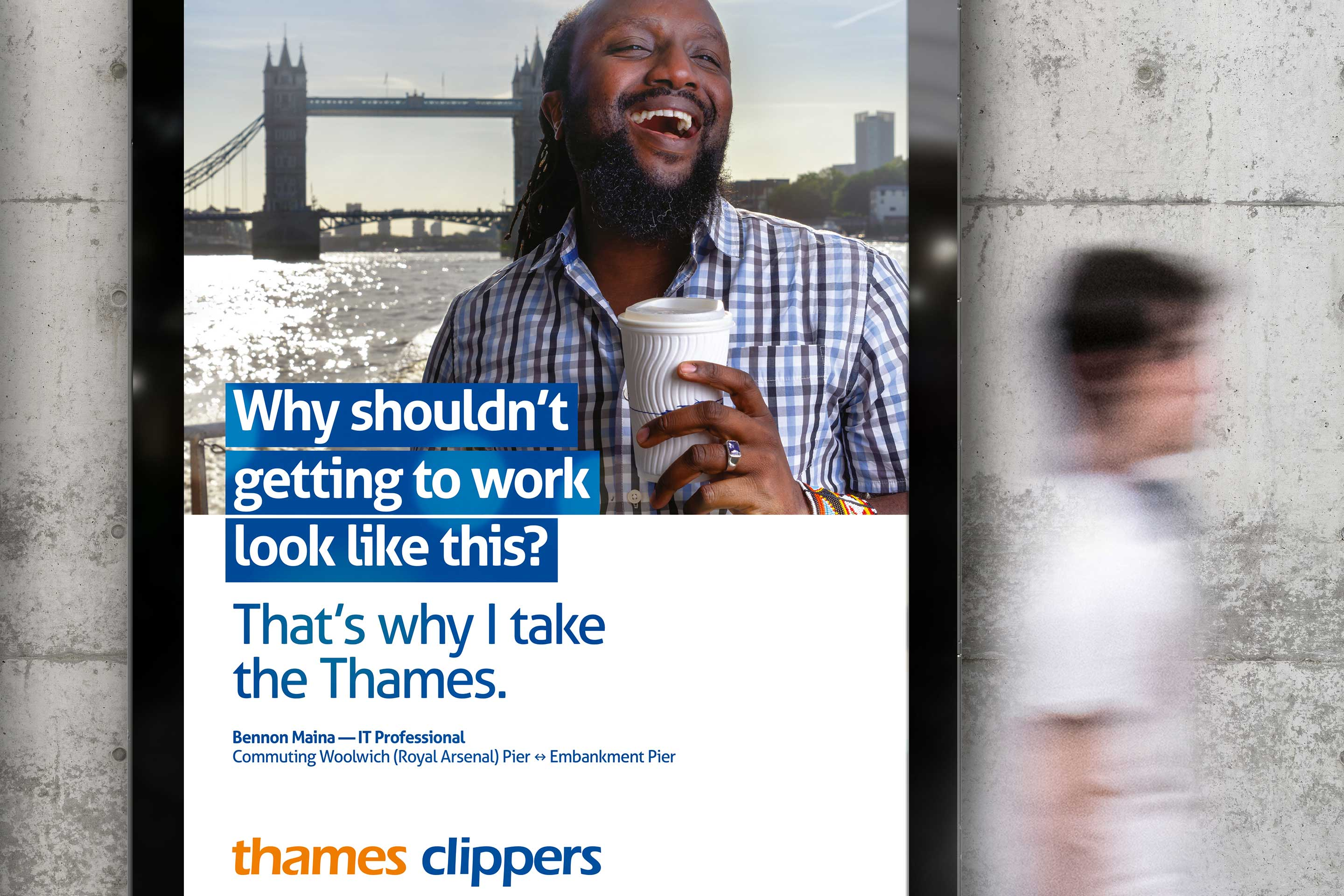 Thames Clippers OOH