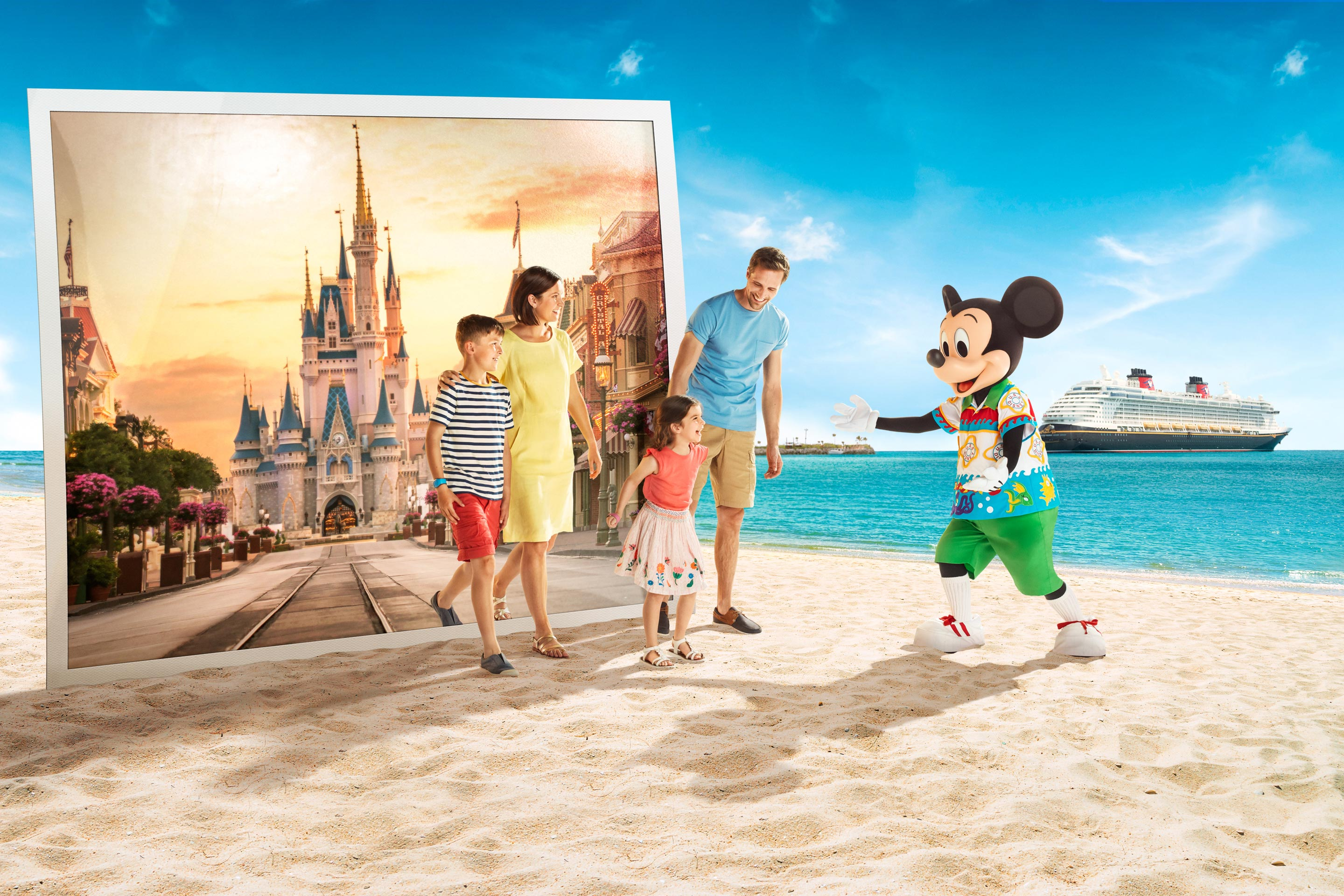Disney Destinations International Ultimate Disney Holiday key visual